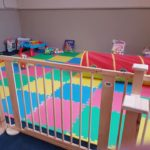 the pykkerell inn courtyard cafe play area for young children