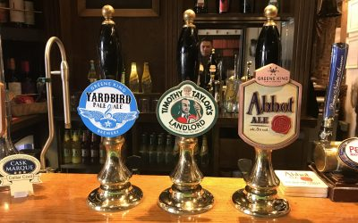The Pykkerell Inn cask ales